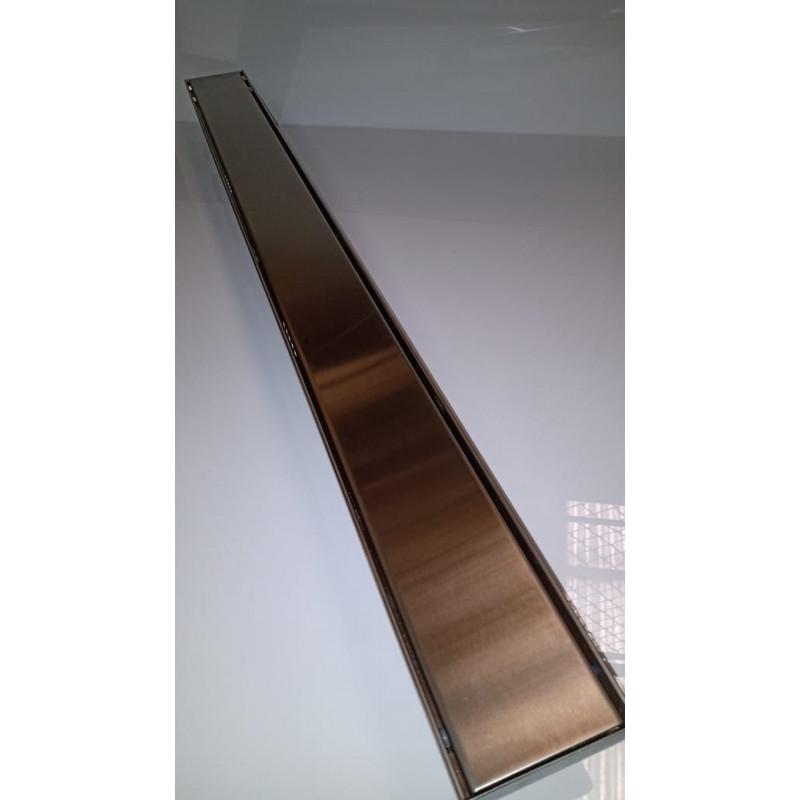 Ralo In line em Inox 60 x 9 x 7 cm Liso